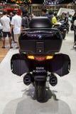 BMW K 1600 GTL artikel med ensamrätt som turnerar motorcykelsvansljus Royaltyfria Foton