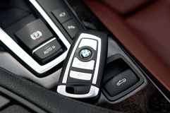 BMW keyless Photographie stock