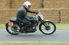 BMW Kompressor Type 255  vintage  racing motorbike Stock Photography