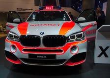 BMW-Krankenwagenauto an den IAA-Autos Lizenzfreies Stockbild