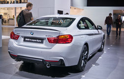 BMW kupé för 4 serie Royaltyfria Foton