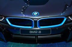 BMW l'i8 tout-neuf Images libres de droits