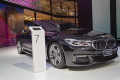 BMW 730Ld sDrive M Sport royalty-vrije stock foto