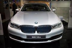 BMW 740Le przenośny hybrydowy samochód Zdjęcie Stock