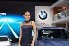 BMW 740Le XDrive纯净的优秀 免版税图库摄影
