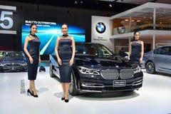 BMW 740Le XDrive ren utmärkthet Fotografering för Bildbyråer