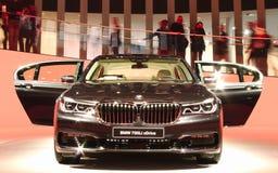 BMW 750Li στα αυτοκίνητα IAA στοκ εικόνες