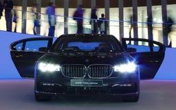 BMW 750Li nos carros de IAA Foto de Stock Royalty Free
