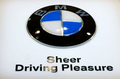 Bmw logo Royalty Free Stock Images