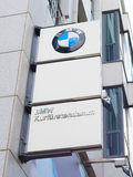 BMW logo in berlin Royalty Free Stock Photography