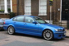 BMW 3 Royalty Free Stock Photography