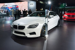 BMW M6 στην επίδειξη Στοκ φωτογραφίες με δικαίωμα ελεύθερης χρήσης