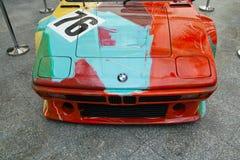 BMW M1安迪・沃荷 免版税图库摄影