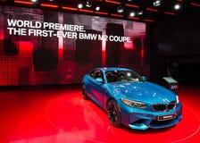 2016 BMW M2小轿车 免版税图库摄影