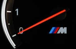 BMW M3车头表 免版税库存照片