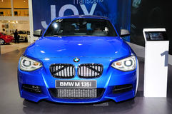 BMW M 135i couple car Royalty Free Stock Photos