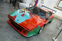 BMW M1 by Andy Warhol Royalty Free Stock Photography
