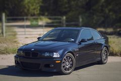 BMW M3 aucune infraction Photographie stock