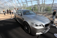 BMW M5 at  Auto Mobile International Trade Fair Stock Images