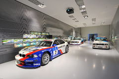 BMW M competition cars in the Touring Car Hall of BMW Museum Stock Photos