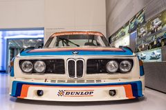BMW M Competition CSL - BMW-Museum royalty-vrije stock afbeelding