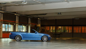 BMW M3 CONVERTIBLE Royalty Free Stock Images