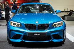 2017 BMW M2 Coupe car Stock Photo
