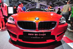 BMW M6 Coupe on display at BMW World 2014 Stock Photo