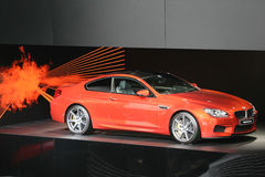 BMW M6 Coupe. FRANKFURT - SEPT 10: BMW M6 Coupe shown at the 65th IAA (Internationale Automobil Ausstellung) on September 10, 2013 in Frankfurt, Germany Stock Photography
