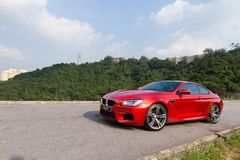 BMW M6 Coupe 2012 Stock Photography