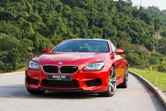 BMW M6 Coupe 2012 Royalty Free Stock Photography