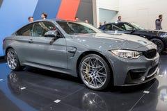 BMW M4 Coupe TELESTO car. BRUSSELS - JAN 19, 2017: BMW M4 Coupe TELESTO car at the Brussels Auto Salon Royalty Free Stock Image