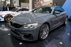 BMW M4 Coupe TELESTO car. BRUSSELS - JAN 19, 2017: BMW M4 Coupe TELESTO car at the Brussels Auto Salon Royalty Free Stock Images