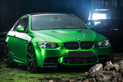 BMW M3 Coupe tuning Stock Photo