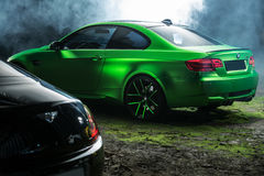 BMW M3 Coupe tuning Stock Images