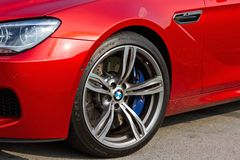 BMW M6 Coupe 2012 Wheel Stock Photography
