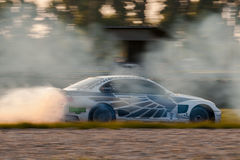 BMW M3 drift car Stock Photos