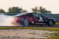BMW M6 drift car Royalty Free Stock Photos