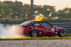 BMW M3 drift car Stock Photography