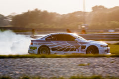 BMW M3 drift car Royalty Free Stock Photo