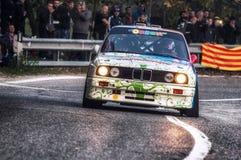 BMW m3 du Saint-Marin le 21 octobre 2017 - au rassemblement la légende Images libres de droits