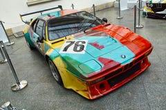 BMW M1 durch Andy Warhol Stockbild