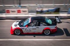 BMW M3 e46 bieżny samochód Obrazy Royalty Free