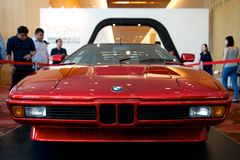 BMW M1. E26 BMW M1 on display Royalty Free Stock Image