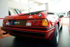 BMW M1. E26 BMW M1 on display Royalty Free Stock Photography