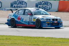 BMW M3 E46. MISANO ADRIATICO, Rimini, ITALY - May 10:  A BMW M3 E46 driven by MELONI Paolo (ITA) and TRESOLDI Massimiliano (ITA), W&D Racing Team during the C.I Royalty Free Stock Images