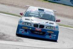 BMW M3 E46. MISANO ADRIATICO, Rimini, ITALY - May 10:  A BMW M3 E46 driven by MELONI Paolo (ITA) and TRESOLDI Massimiliano (ITA), W&D Racing Team during the C.I Royalty Free Stock Photos