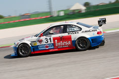 BMW M3 E46 RACE CAR. MISANO ADRIATICO, Rimini, ITALY - May 10:  A BMW M3 E46 driven by FERRARESI Matteo (ITA)  and MELONI Walter (ITA),W&D Racing Team during the Stock Image