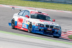 BMW M3 E46 RACE CAR. MISANO ADRIATICO, Rimini, ITALY - May 10:  A BMW M3 E46driven by FERRARESI Matteo (ITA)W&D Racing Teamduring the C.I.Turismo Enduranceon May Royalty Free Stock Images