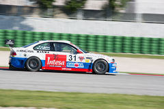 BMW M3 E46 RACE CAR. MISANO ADRIATICO, Rimini, ITALY - May 10:  A BMW M3 E46driven by FERRARESI Matteo (ITA)W&D Racing Teamduring the C.I.Turismo Enduranceon May Royalty Free Stock Image